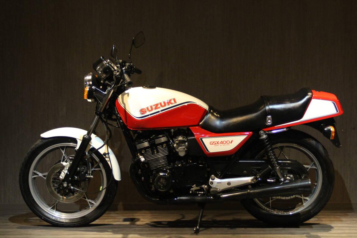 「1982年モデル スズキ GSX400F 検無 GS40XF 」の画像2