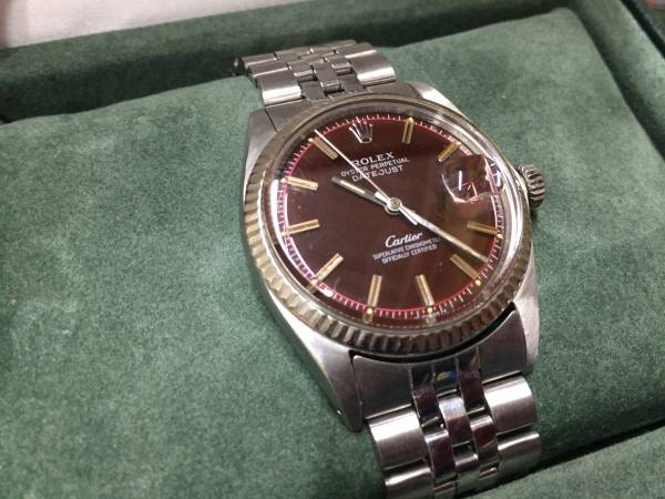 uk availability 4a302 936a6 貴重 ROLEX Cartier カルティエ ダブルネーム Wネーム ジャンク ...