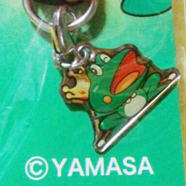【赤】蛙/メタルプレートストラップ★ジャイアントパルサー【送料無料】_画像2