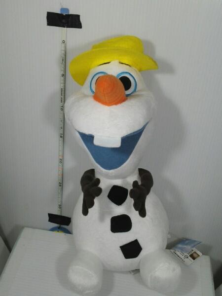 ディズニーアナ雪 オラフ特大ぬいぐるみ 新品 ディズニーグッズの画像