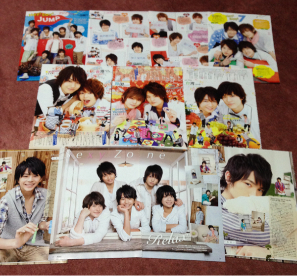 【切り抜き】Hey!Say!JUMP・SexyZone/POTATO2012.5