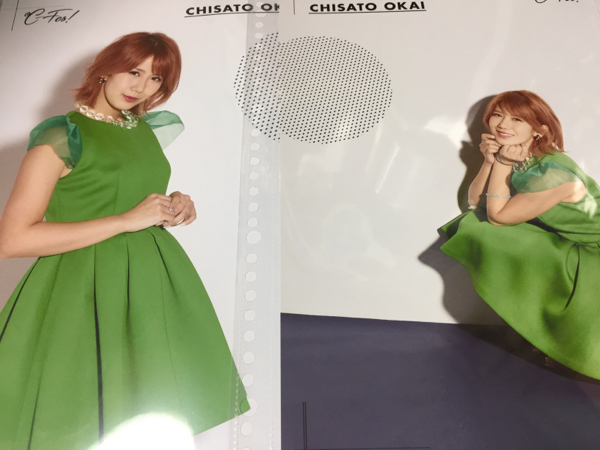 ℃-ute岡井千聖2種★ピンポス★ピンナップポスター★℃-fes ライブグッズの画像