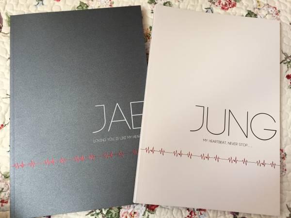 ♪JYJ♪ ジェジュン HEARTBEAT♪FC限定大型二冊写真集♪