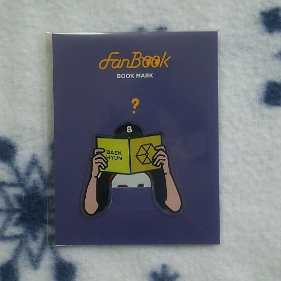 EXO Fan Book ブックマーク ベッキョン BAEKHYUN SUM 新品 A