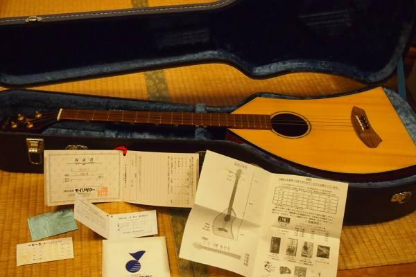 美品一五一会ビギン☆ハードケース、新品替え絃、ピン付き