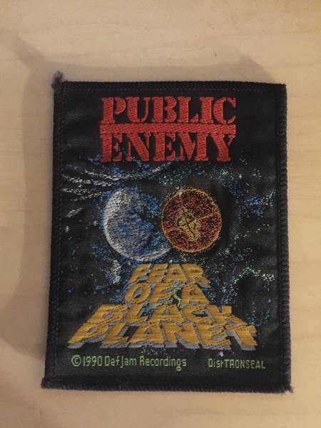 public enemy ワッペン パッチ パブリックエネミー n.w.a hiphop