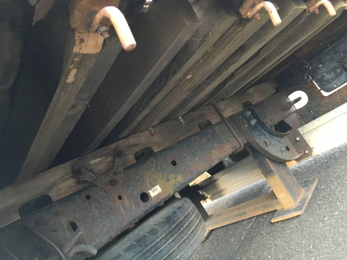 「コンドル 検付37600km クレーン ユニック ハイジャッキ セルフ ロングジャッキ セーフティ 回送 積載車 ファイター レンジャー フォワード」の画像2