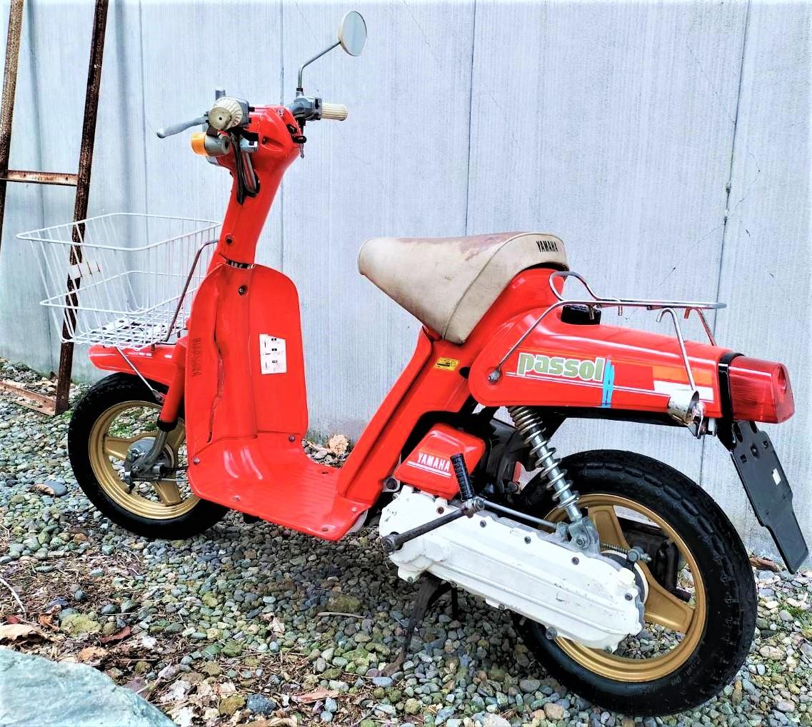 「実働 ヤマハ パッソル 2E9 YAMAHA PASSOL (検索)旧車 昭和 レトロ 絶版 パッソーラ ジョグ JOG」の画像2