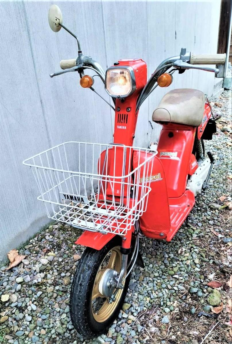 「実働 ヤマハ パッソル 2E9 YAMAHA PASSOL (検索)旧車 昭和 レトロ 絶版 パッソーラ ジョグ JOG」の画像3