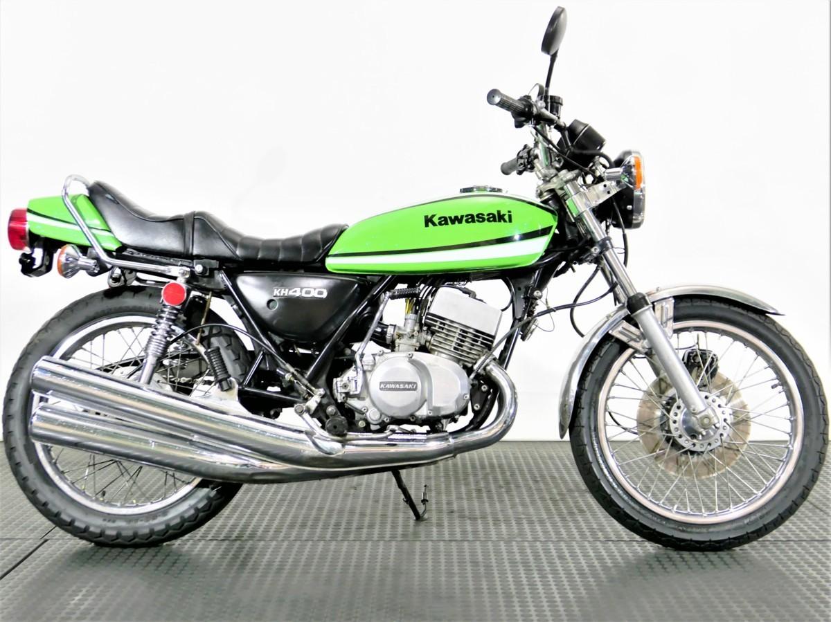 「Kawasaki 400SS マッハ2 S3 1975年 2スト 3気筒 オオカワタックロールシート 動画有り 下取強化出張可 全国通販 ローン120回 業販歓迎」の画像3