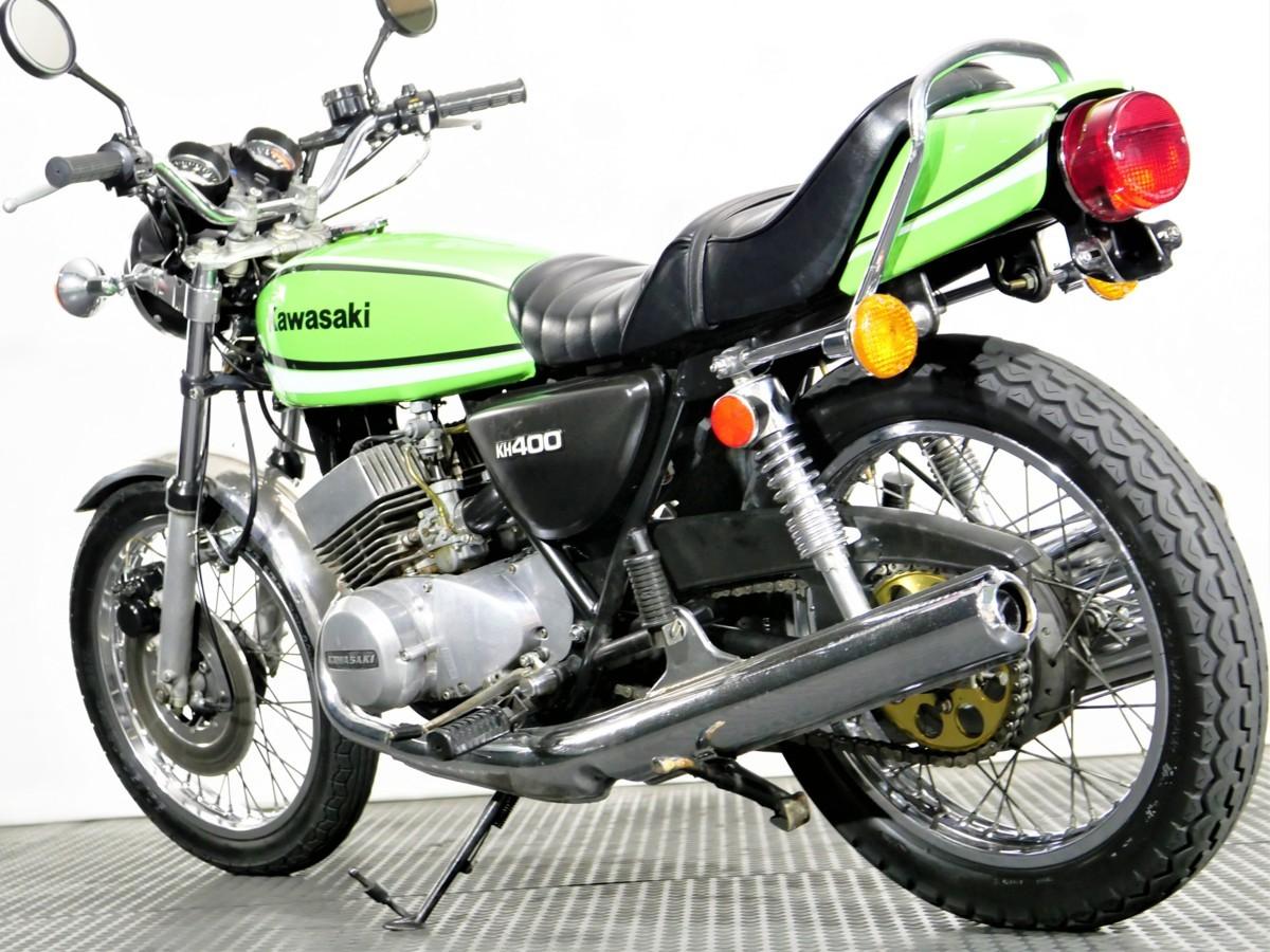 「Kawasaki 400SS マッハ2 S3 1975年 2スト 3気筒 オオカワタックロールシート 動画有り 下取強化出張可 全国通販 ローン120回 業販歓迎」の画像2