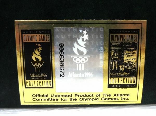 ZIPPO OLYMPIC GAMES COLLECTION Atlanta 1996 ジッポー 未使用 O5954572_画像9