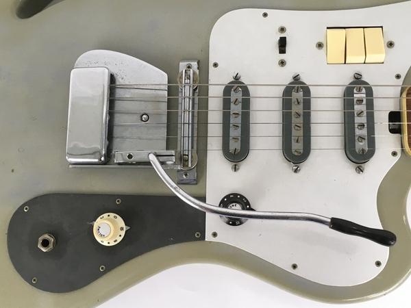 Teisco TG-64 1960年代 エレキギター ビンテージ ジャンク Y5938920_画像7