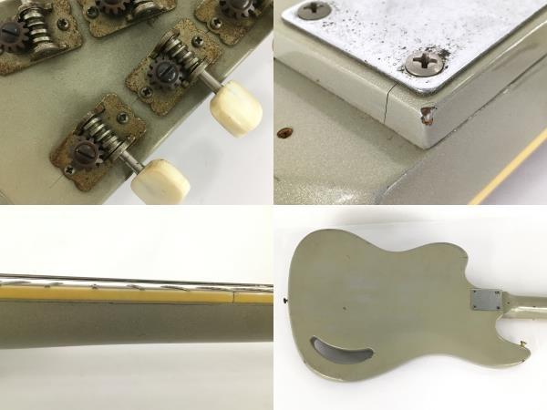 Teisco TG-64 1960年代 エレキギター ビンテージ ジャンク Y5938920_画像9