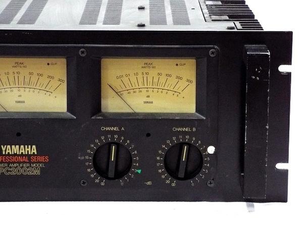 YAMAHA PC2002M パワーアンプ 音響機材 オーディオ ジャンク T5887925_画像3
