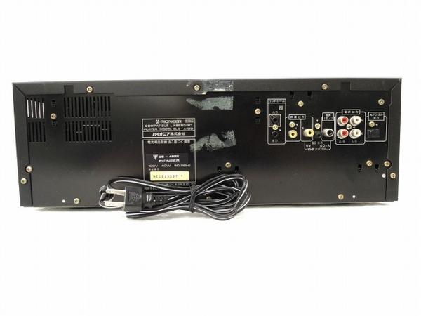 PIONEER CLD-A100 LD CD レーザーディスクプレイヤー パイオニア ジャンク O5954573_画像10
