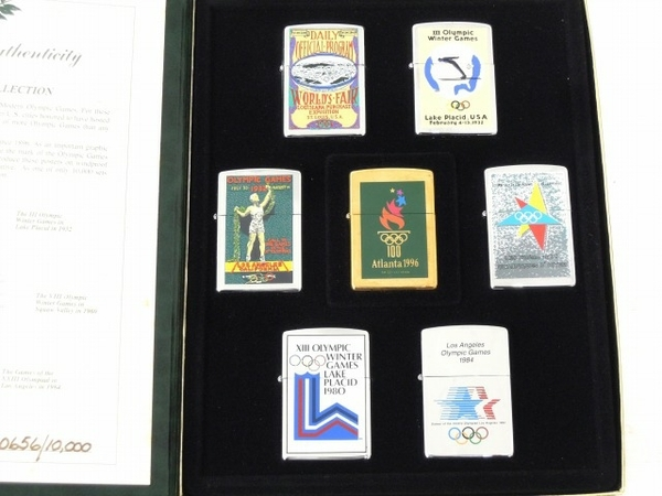 ZIPPO OLYMPIC GAMES COLLECTION Atlanta 1996 ジッポー 未使用 O5954572_画像2
