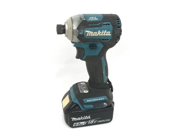 makita マキタ TD170D 充電式 インパクトドライバー 18V 中古 M5954464_画像1