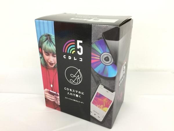 IO DATA CD-5WK スマートフォン用CDレコーダー CDレコ5 中古 良好 Y5949550_画像5