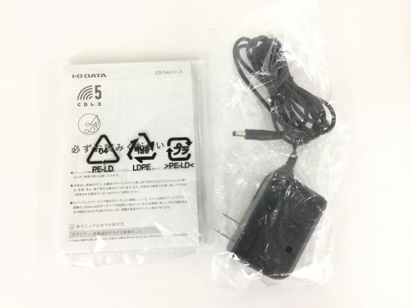 IO DATA CD-5WK スマートフォン用CDレコーダー CDレコ5 中古 良好 Y5949550_画像2