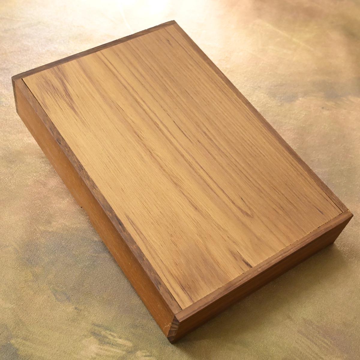 本物 新品 ダンヒル 極希少 木製 ナチュラルウッド ロゴプレート付き ヒュミドール シガレット シガーケース 喫煙具 DUNHILL_画像4