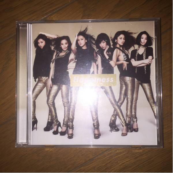 E-girls Happiness 1st album Happy Time 通常盤 帯付き