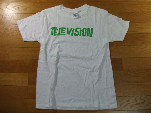 Television Tシャツ テレヴィジョン SIZE:S 白