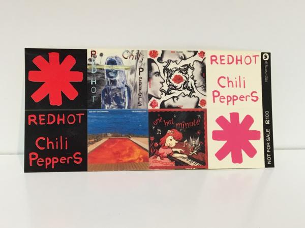 未使用 ステッカー レッチリ REDHOT chili Peppers