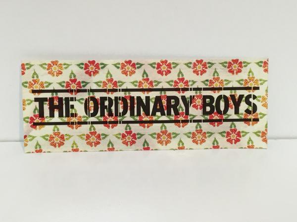 未使用 ステッカー オーディナリーボーイズ THE ORDINARY BOYS