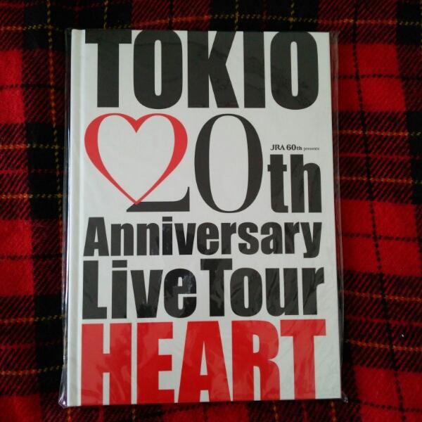 TOKIO 20周年ライブパンフレット HEART ステッカー付属