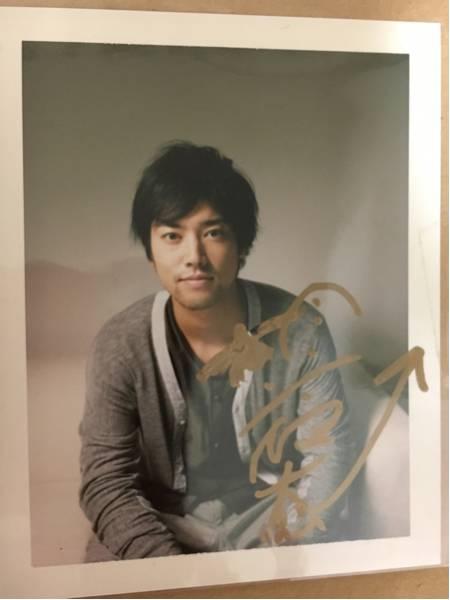 【美品】超レア!桐谷健太サイン入りポラロイド グッズの画像