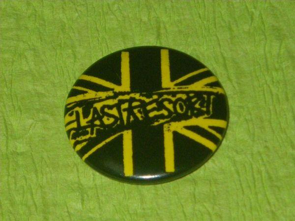 ★送料無料★THE LAST RESORTの缶バッチ punk Oi ラストリゾート