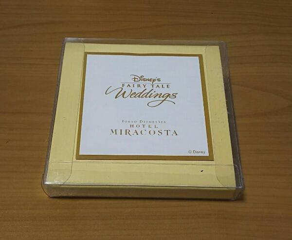 ディズニーシーホテルミラコスタ ウェディング 成約記念 小皿 TDS ディズニー ミラコスタ 非売品 アクセサリートレイ_画像2