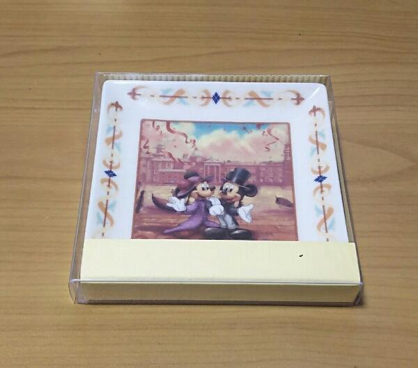 ディズニーシーホテルミラコスタ ウェディング 成約記念 小皿 TDS ディズニー ミラコスタ 非売品 アクセサリートレイ_未使用です