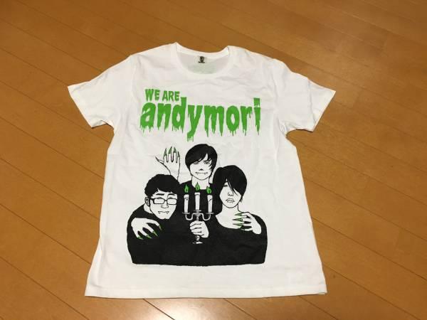即決 andymori tシャツ アンディモリ イラスト xs