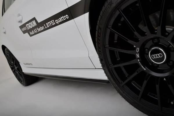 特価 ベリー Reife Audi A3 セダン 8V 前期 サイドステップ スポイラー エアロ_2色塗り分け塗装例です