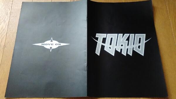 TOKIO MOVE ON LIVE&SHOW 1994 パンフレット 送料164円希少レア