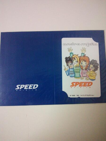 映画SPEEDアンドロメディア限定イラストテレフォンカード未使用