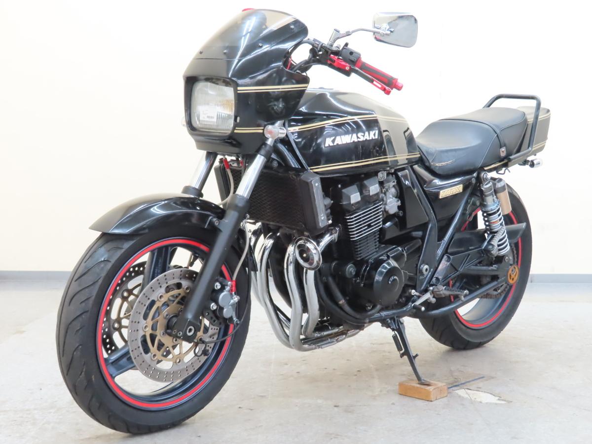 「カワサキ ZRX400 【動画有】ローン可 美車 カスタム車 ZR400E 400cc 4気筒 現車確認要予約 KAWASAKI 売り切り」の画像3