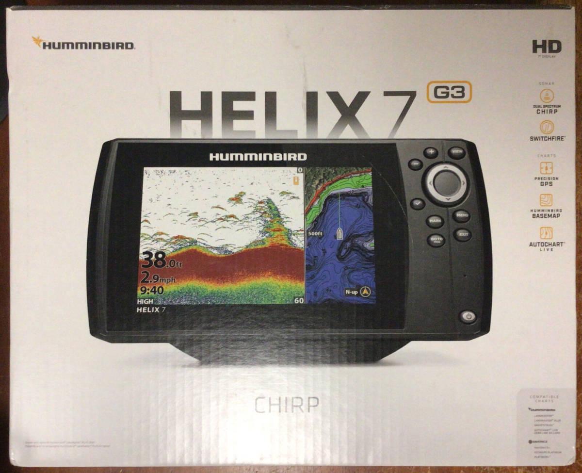 「超美品 輸入版 即日発送 ハミンバード へリックス7 G3N GPS Mega Di (検索 mega 360 ウルトレックス ミンコタ 360 helix hummingbird」の画像1