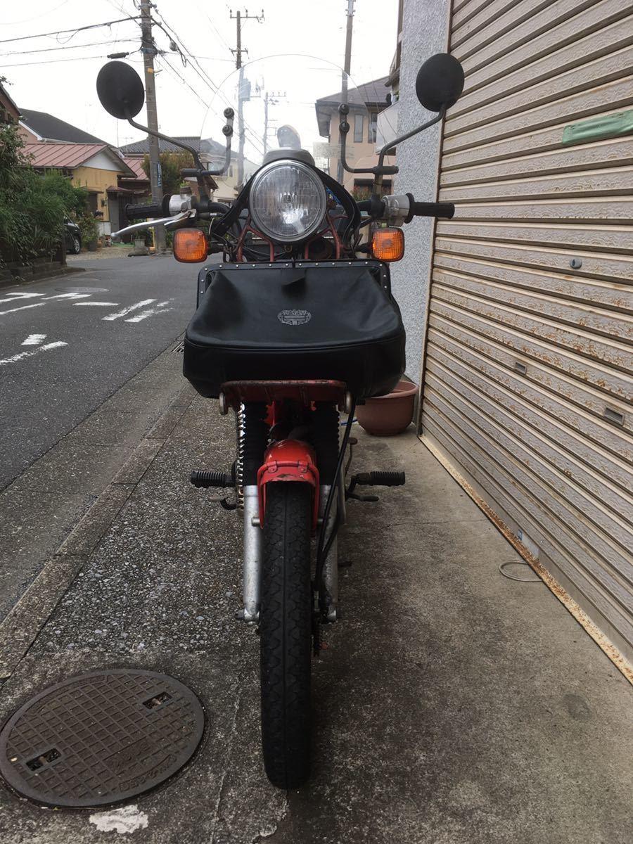 「HONDA CT110P(日本郵政仕様) ハンターカブ110ポスティ」の画像3