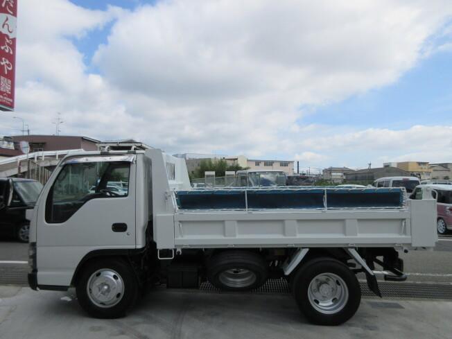 「ダンプ車 いすゞ エルフ PB-NKR81AD 2007年製 187000km 2トン 高床 強化ダンプ 3ペダル キャリア コ」の画像3