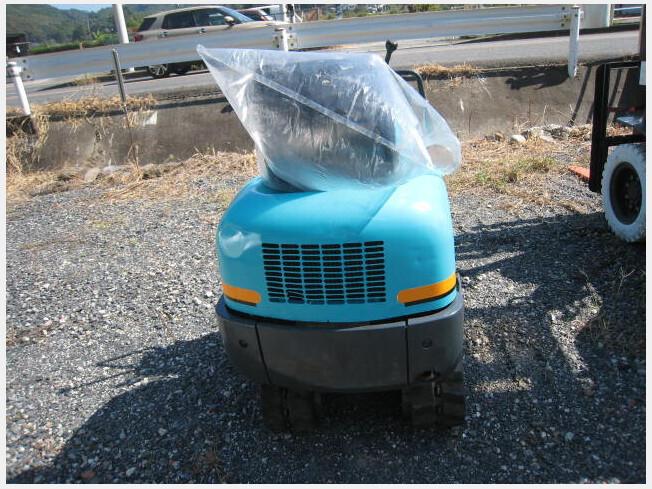 「ミニ油圧ショベル(ミニユンボ) クボタ K-008 1993年製 3170h」の画像3