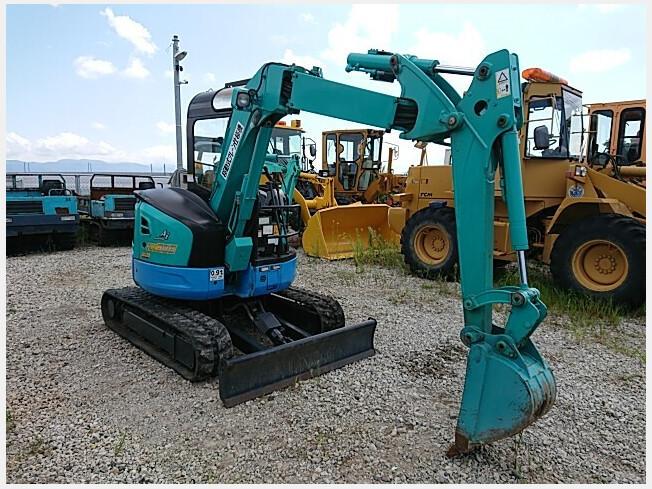 「ミニ油圧ショベル(ミニユンボ) クボタ RX-306 2009年製 3021h」の画像1