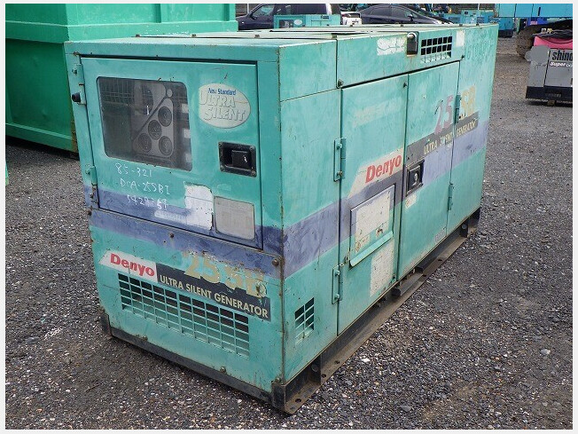 「発電機 デンヨー DCA-25SBI 2001年製 5809h ★25KVA発電機 ★低燃費 ★作動確認済★実機確認可能 」の画像1