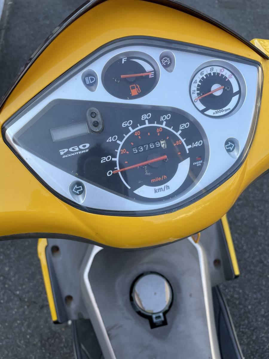 「PGO G-MAX150 4V 奈良県 引き取り限定 」の画像2