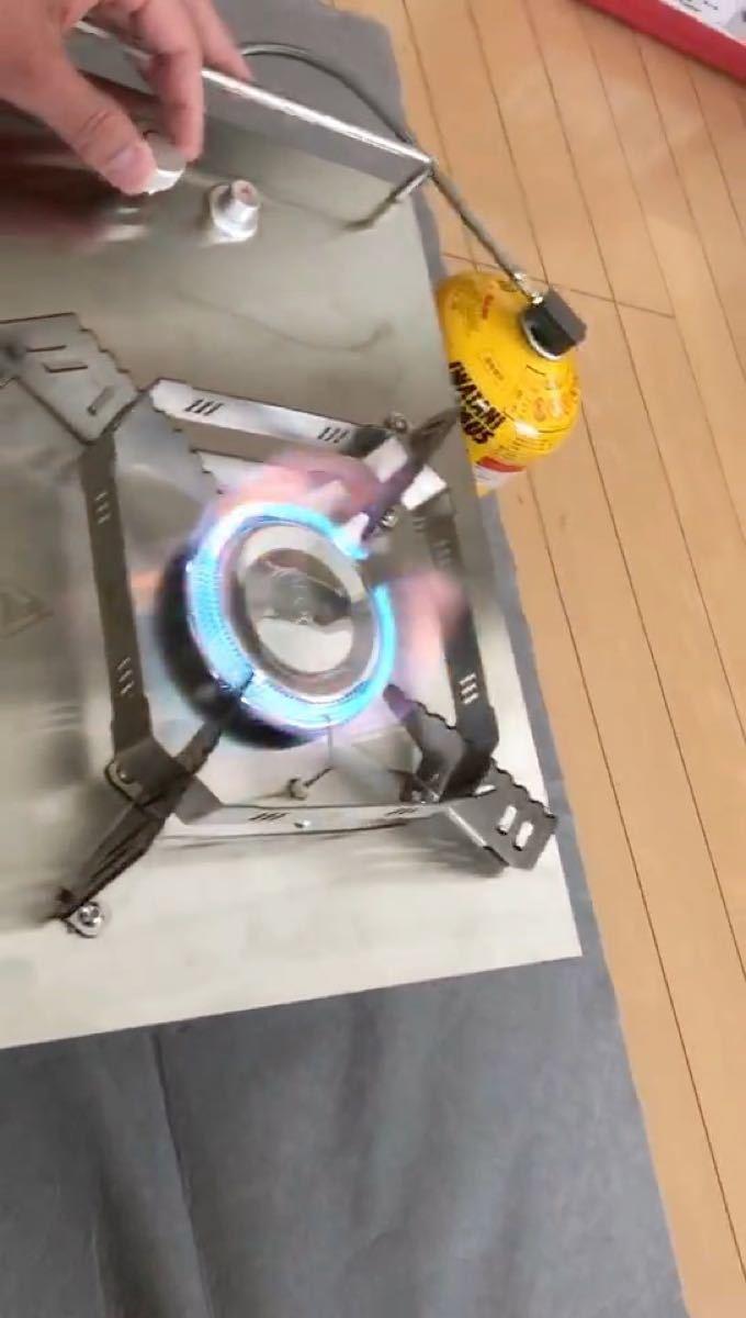 ALOCS ハイパワーバーナー テーブル薄型 シングルバーナー 最大5500