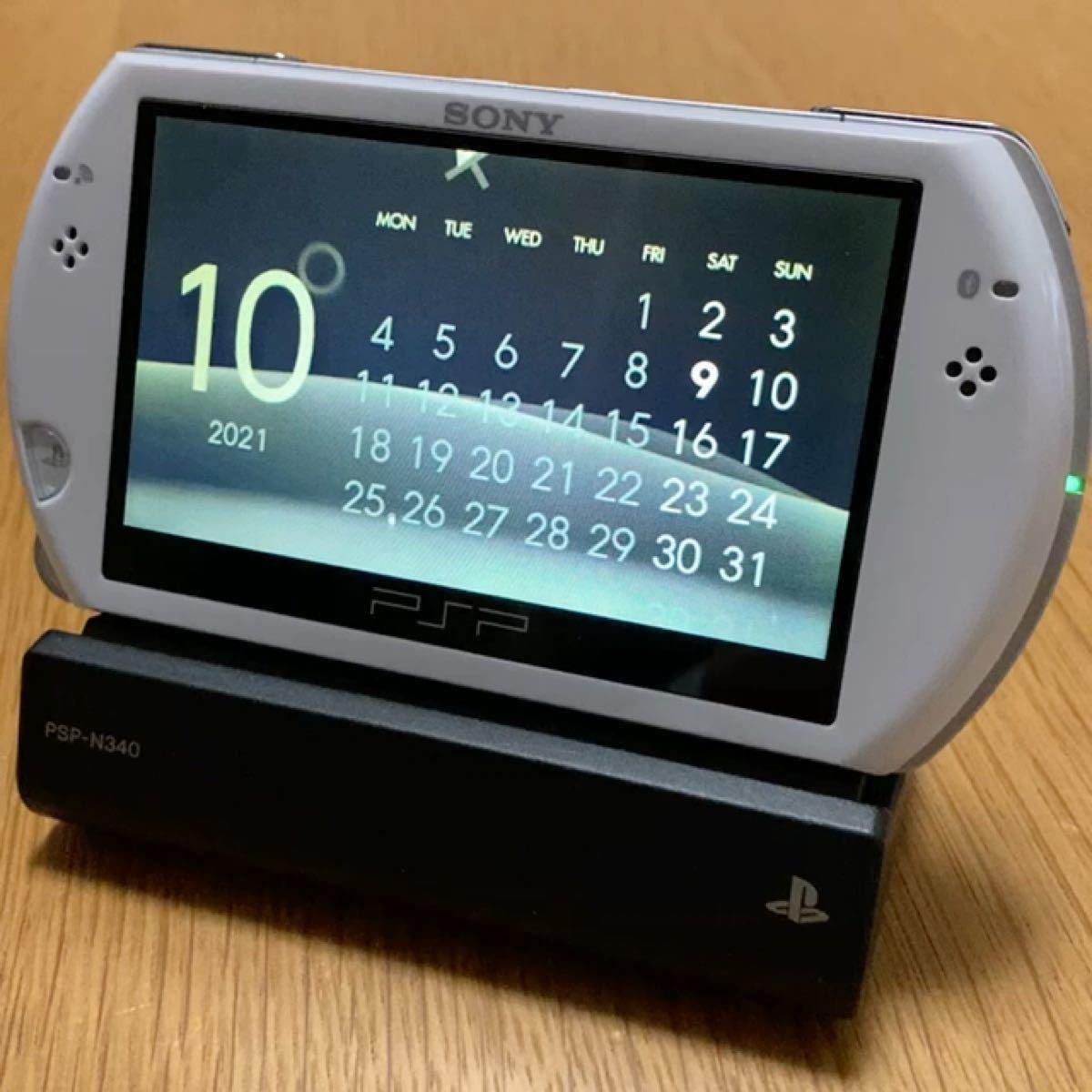 PSP go パール・ホワイト (クレードル付き)