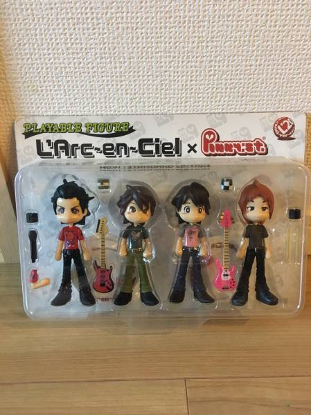 L'Arc-en-Ciel ピンキーストリートフィギュア