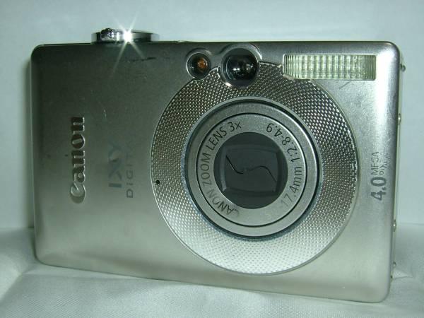 デジカメ Canon IXY DIGITAL 50 (4.0メガ) 3736
